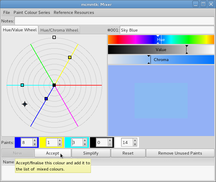 Color muse tool for color matching color muse app for smar for Paint color matching app