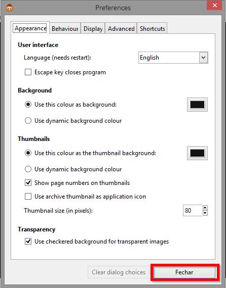 MComix / Bugs / #85 windows: localized