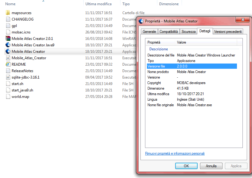 Mobile Atlas Creator / Bugs / #303 after download and