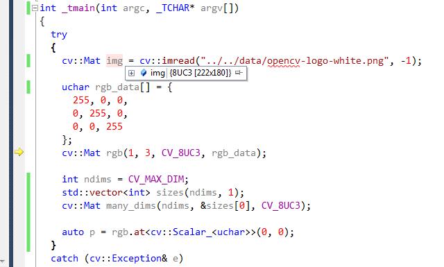 type cv_8uc1