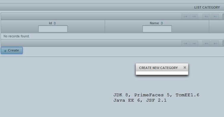 PrimeFaces CRUD Generator for NetBeans / Discussion / General