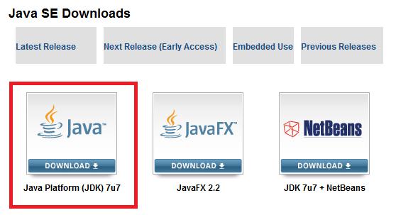 Java SE JDK 7u13