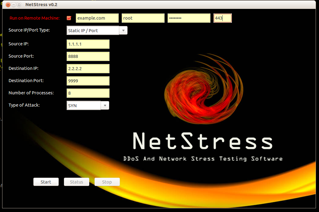 """NetStress Python Interface"""