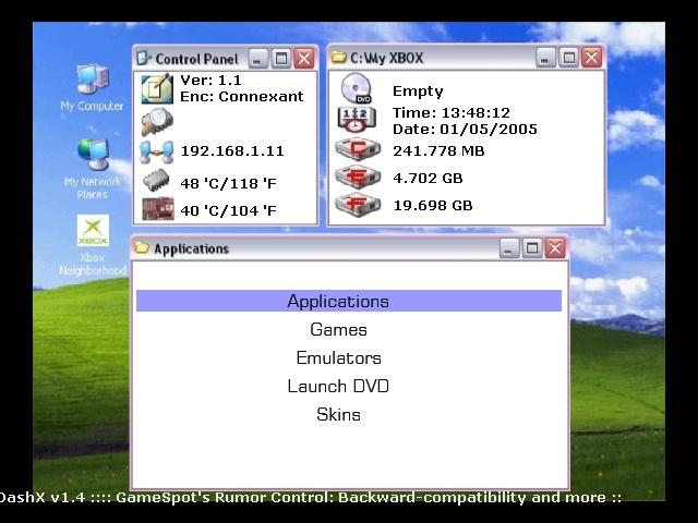 neXgen - Opensource Dashboard for Xbox / Wiki / Home