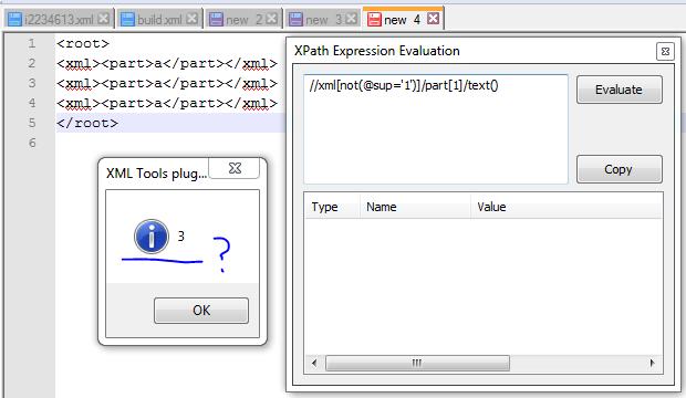 Notepad++ Plugins / Bugs / #232 XML Tools popup