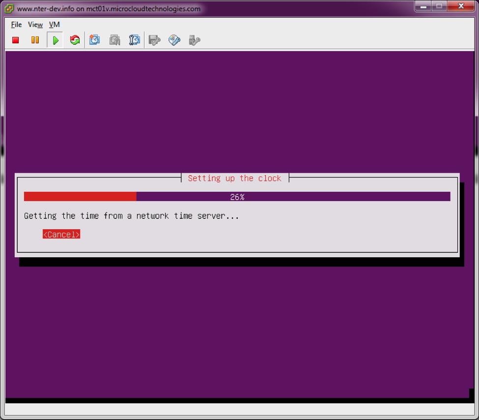 NTER / Wiki / NTER Basic Operating System Ubuntu VMware