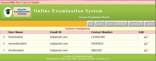 Online Examination System / Wiki / Home
