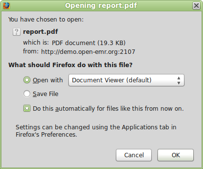 openemr discussion help opening pdf forms in open emr rh sourceforge net openemr user guide pdf OpenEMR System