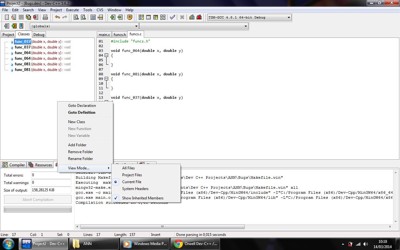 C++ Dev How To Add Class