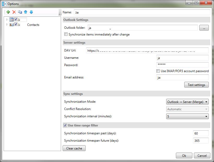 Outlook CalDav Synchronizer / Tickets / #270 Sync error from