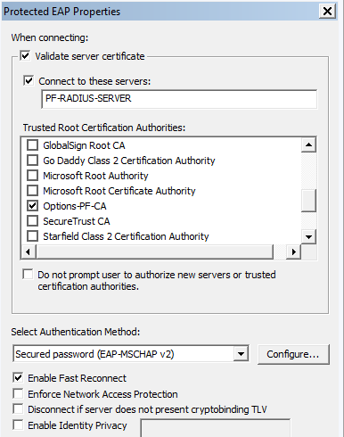 PacketFence / [PacketFence-users] Device authentication with