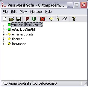 ������ ���  ����� ���� ������ �� Password Safe 3.25