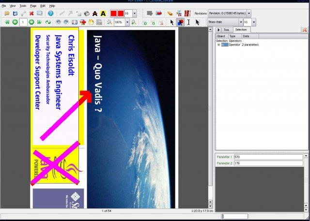 Pantalla: PDFedit Editar Imagenes
