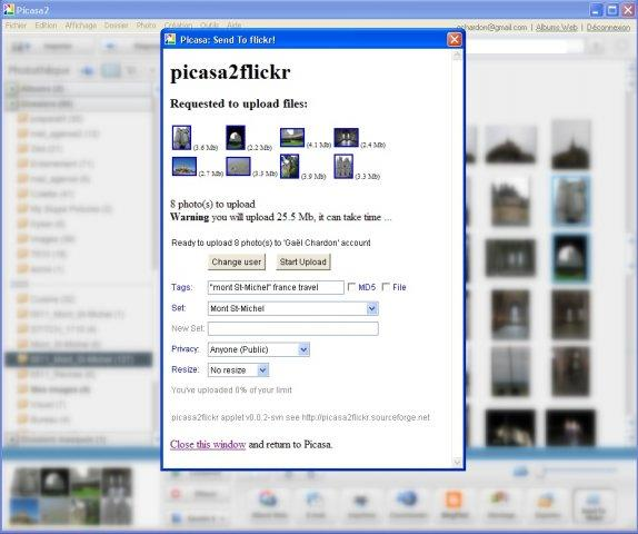 Picassa 2 Flickr