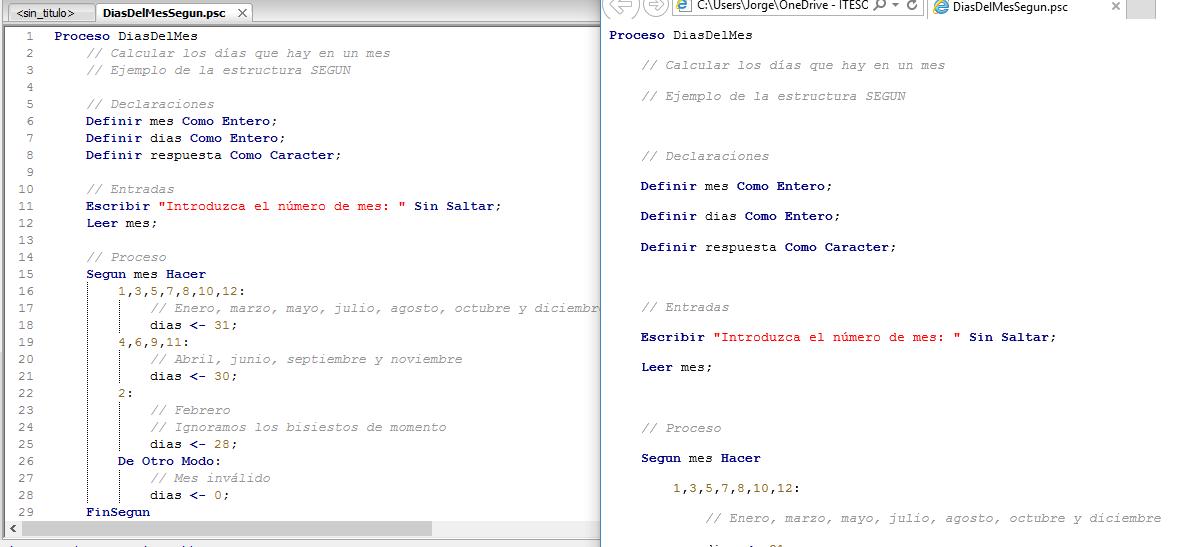 Pseint Discussion Reporte De Erroreserror Al Exportar A Html - Espacio-en-blanco-html