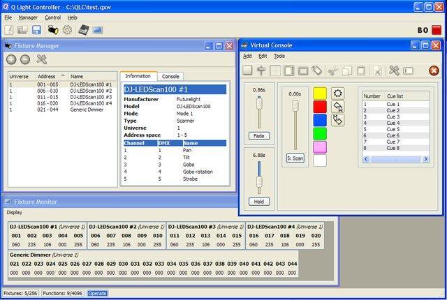 Q Light Controller / Wiki / Home