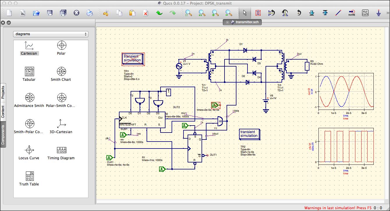 quite universal circuit simulator discussion help qucs hangsif you would