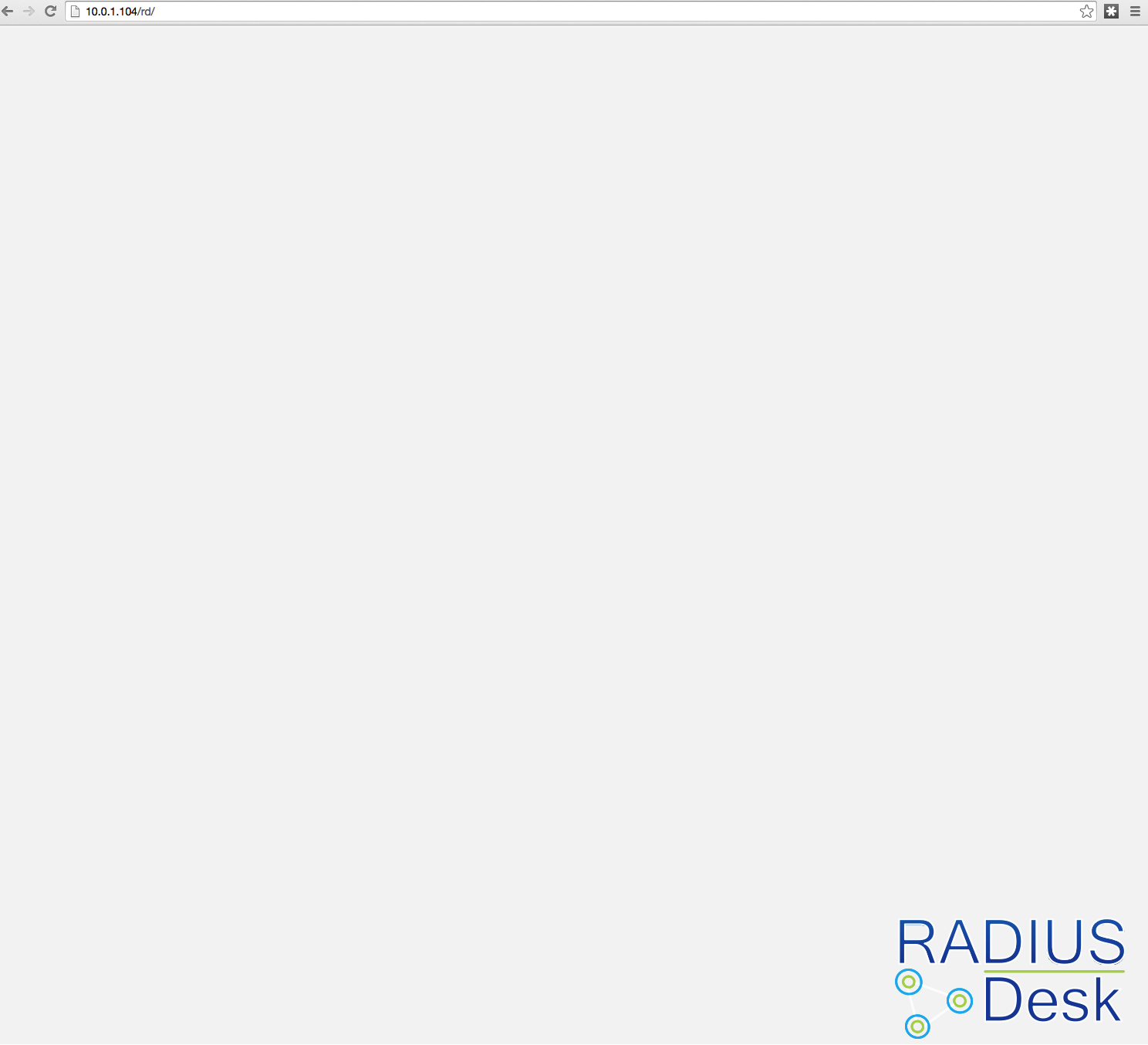 4669b777b7407 RADIUSdesk   Discussion   Help Bugs  Radius desk main page loading ...