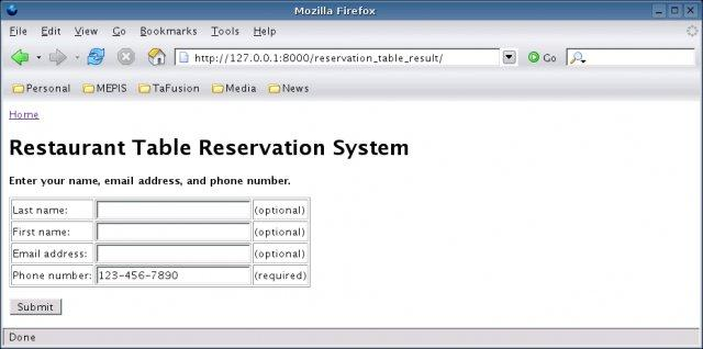 Restaurant Table Reservation System Wiki Home - Table reservation system for restaurants
