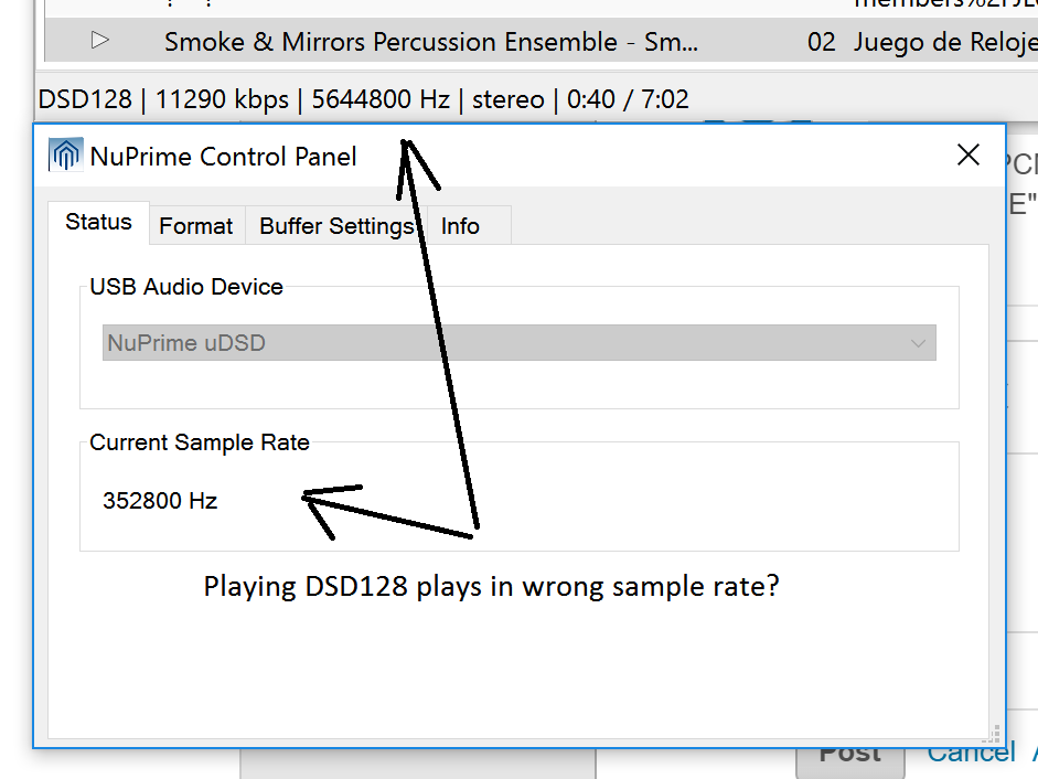 Super Audio CD Decoder / Support Requests / #29 Playing DSD files in