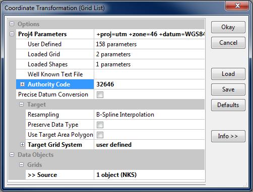 SAGA GIS / Forums / User Forum:Coordinate Transformation (Grid)