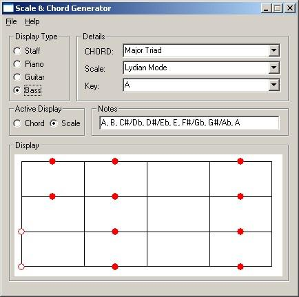Scale and Chord Generator / Wiki / Home