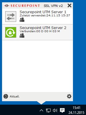 Setup vpn server on synology