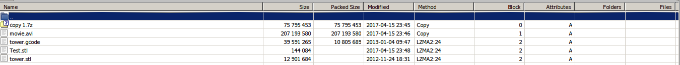 7-Zip / Discussion / Open Discussion:Suggestion: smart compression