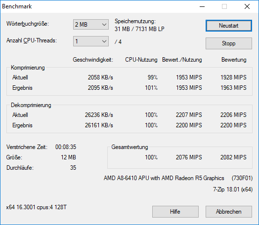 7-Zip / Discussion / Open Discussion: Windows 10 works