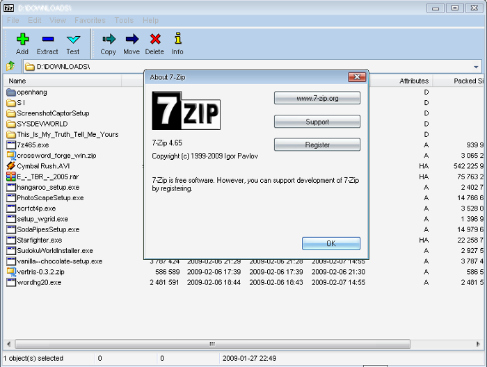7-Zip / Wiki / Home