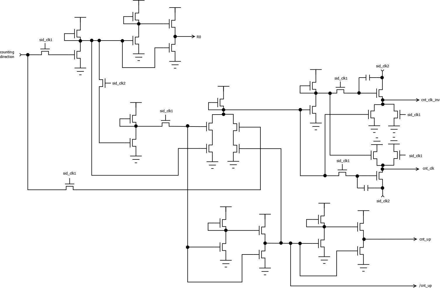 Libsidplayfp Wiki Sid Internals Counter Logic Circuit Design Here Is The Input Carry For Bit 0 Rest Of Included In Previous Picture
