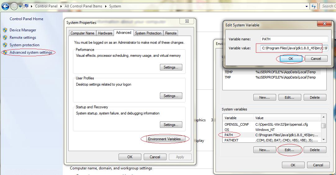 StrongKey CryptoCabinet / Wiki / Install JDK8 and JCE on Windows
