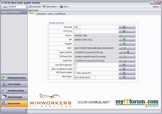 SCCM Client Center / Wiki / Home