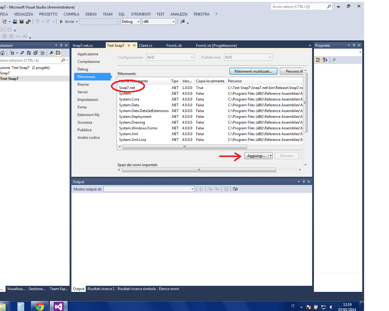 Snap7 / Discussion / General Discussion:VB NET Visual studio express