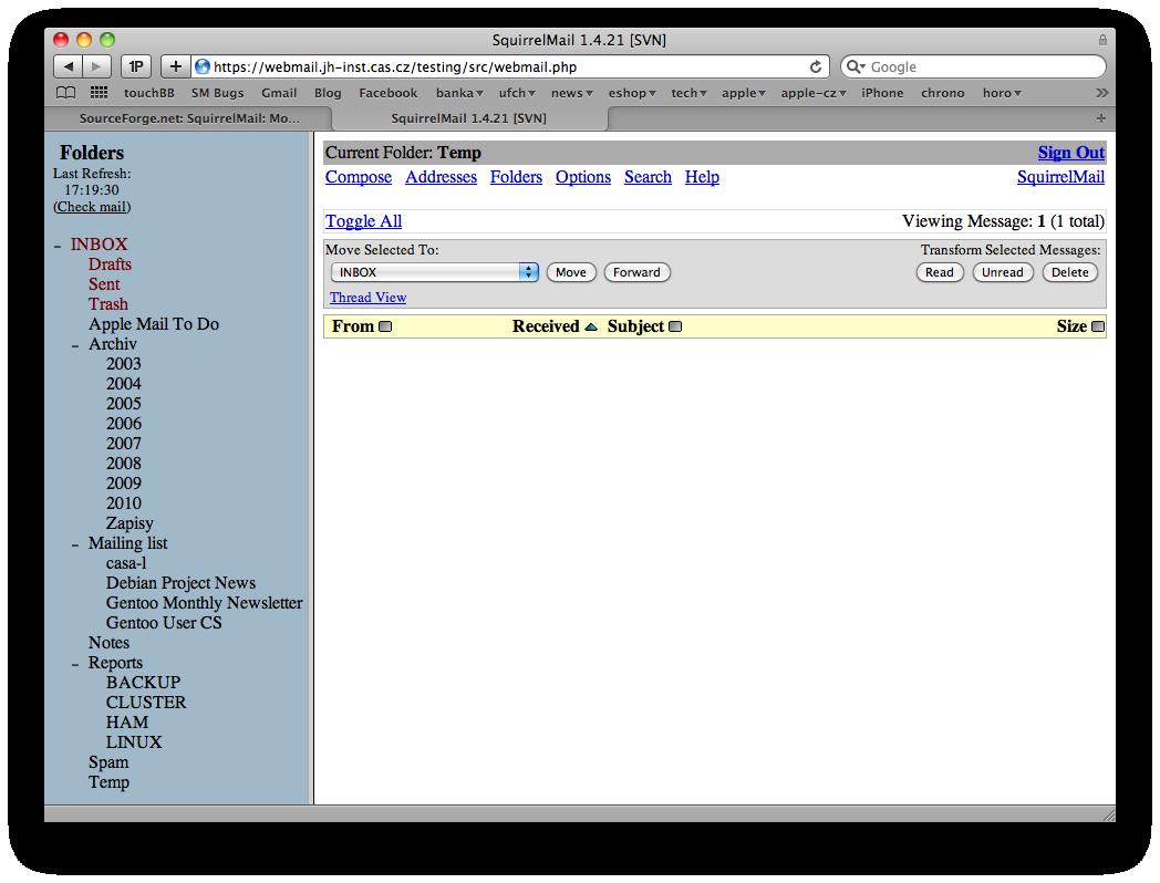 Temp Mail List