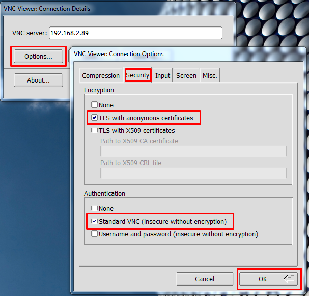 SSVNC / Bugs / #9 Windows binary error