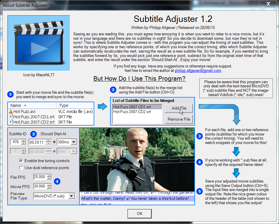 Subtitle adjuster wiki home screenshot thumbnail ccuart Image collections