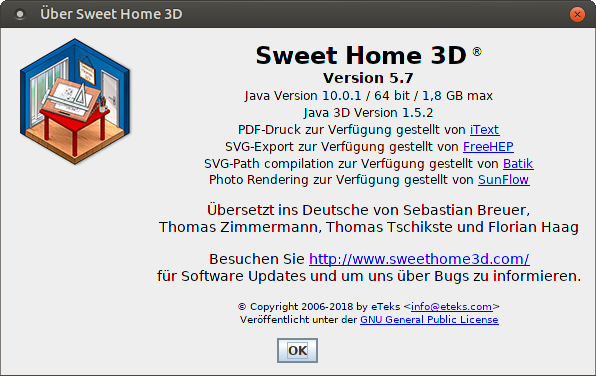 Sweet Home 3D / Bugs / #832 Sweethome3d 5 7 can't import
