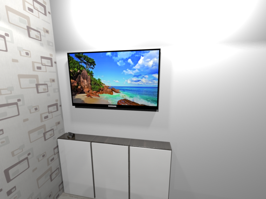 Sweet Home 3d 3d Models 275 Tv Led Samsung # Meuble Tv Swithome