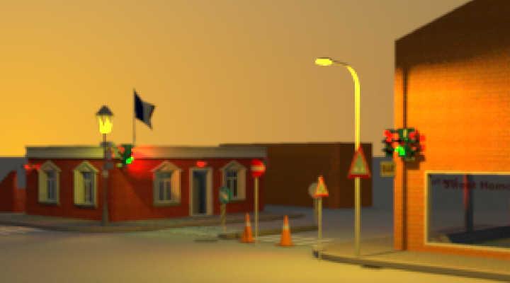 Sweet Home 3d 3d Models 286 Exterior Models Street