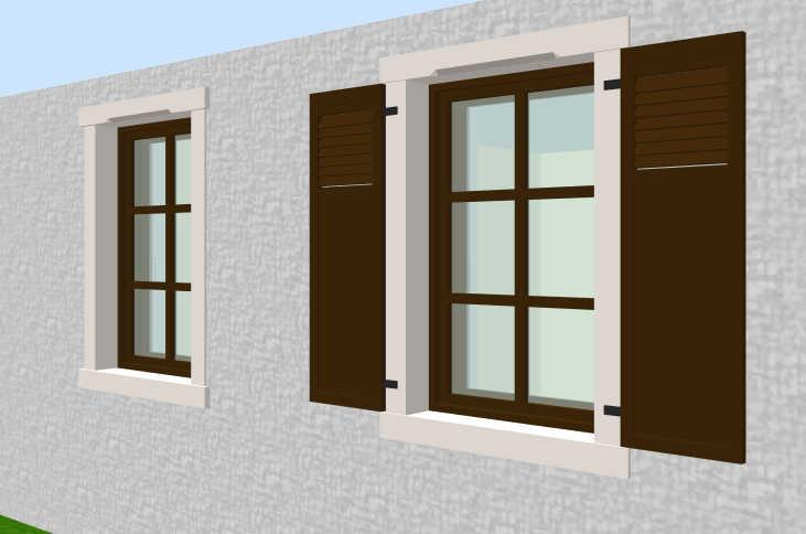 Sweet home 3d 3d models 328 windows thick brick walls for Latest home window models