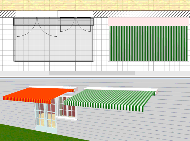 Sweet Home 3D / 3D Models / #361 Awnings