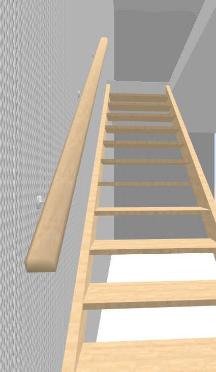 Sweet Home 3d 3d Models 382 Stair Staircase Railing