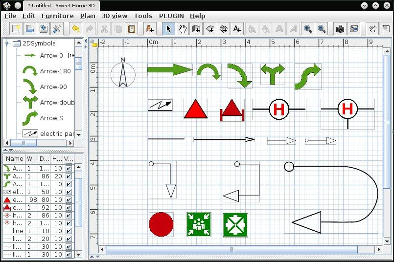 electrical wiring diagram symbols sweet home 3d 3d models 325 2dsymbols  sweet home 3d 3d models 325 2dsymbols