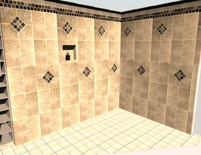 sweet home 3d 3d models 346 wet room bathroom. Black Bedroom Furniture Sets. Home Design Ideas