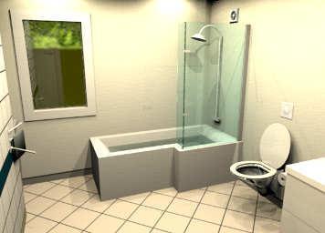 Sweet Home 3D Forum - View Thread - need L shap bath model