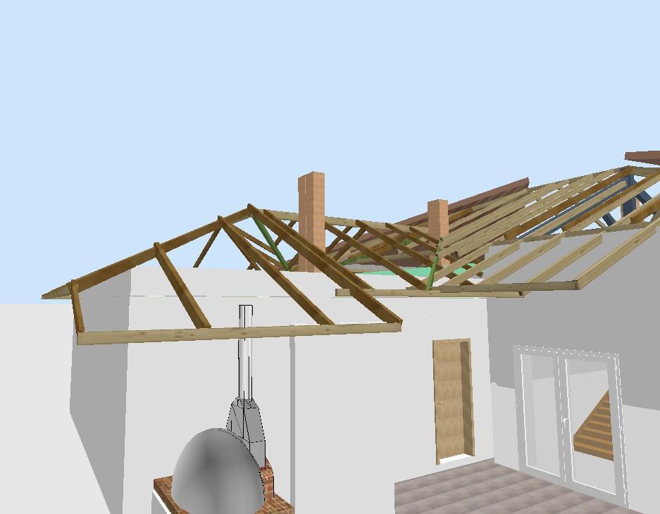 Как сделать крышу дома в sweet home