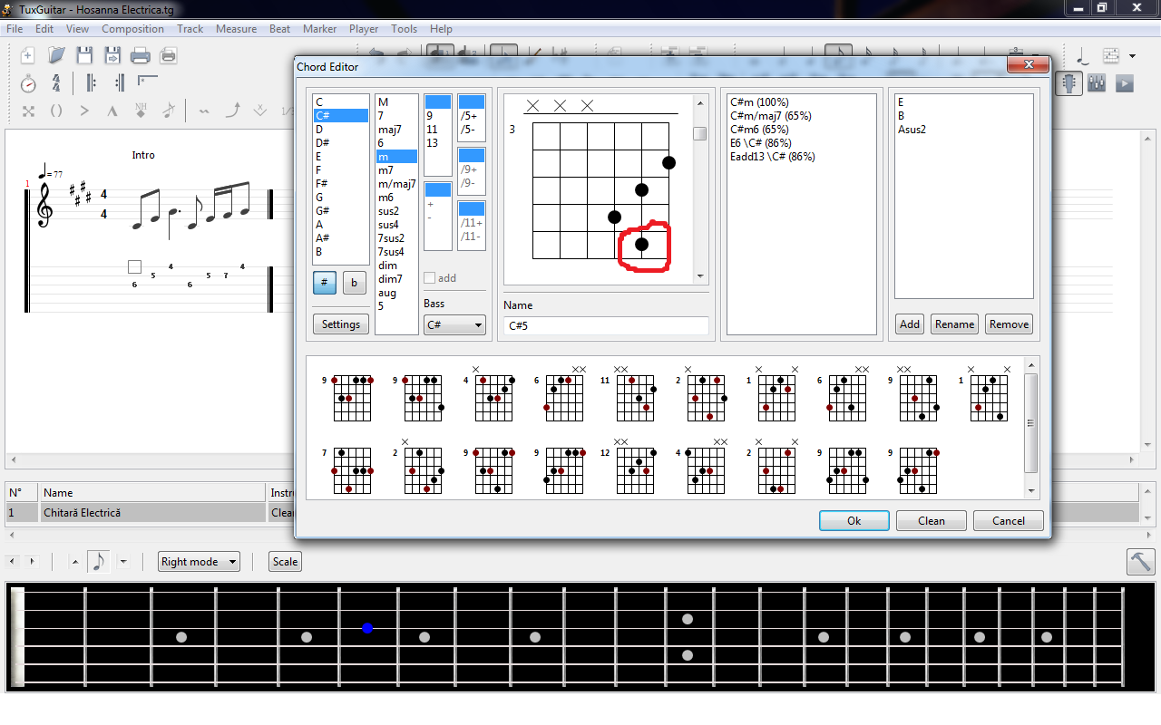 Tuxguitar Feature Requests 18 Add Support For Barre Chords