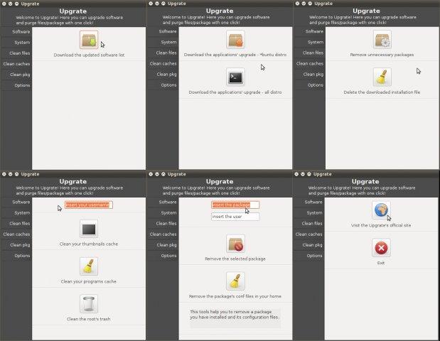 Upgrate 3.4 runs on Lubuntu 10.10