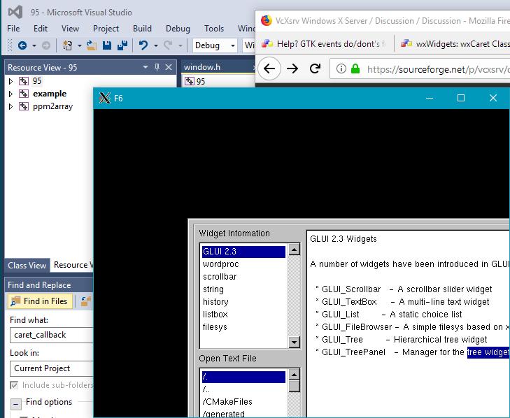 VcXsrv Windows X Server / Bugs / #102 GLX subwindow origin